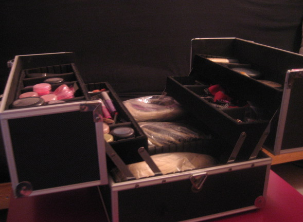 Ayria's Head - Travel Make Up Case