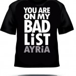 Ayria Bad List T-shirt (Silver)