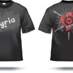 Ayria Munitions T-Shirt Front & Back