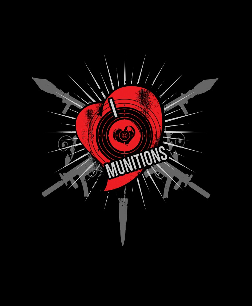 Ayria Munitions T-Shirt Back