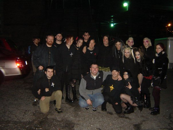 The Cruxshadows, Ayria, I:Scintilla in Atlanta, GA, December 2008
