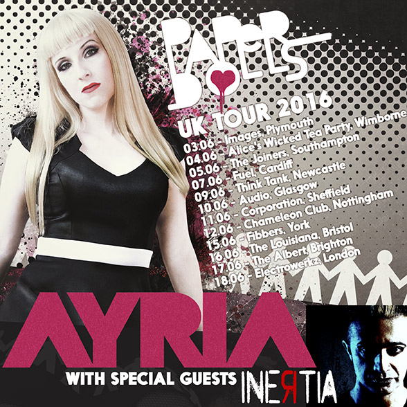 Ayria UK 2016 Tour